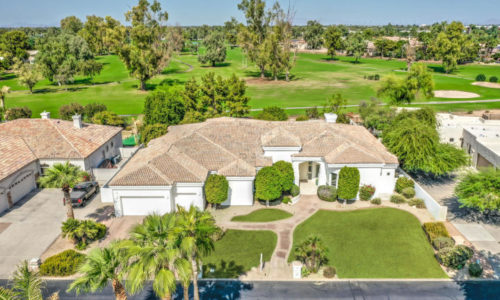 Golf Course Home in Chandler
